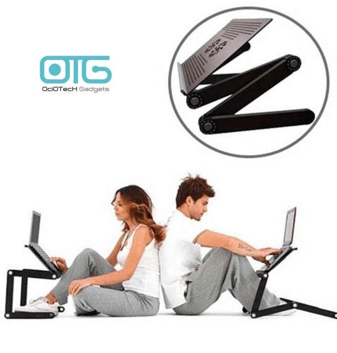 Mesa cooler articulable para notebook - 1