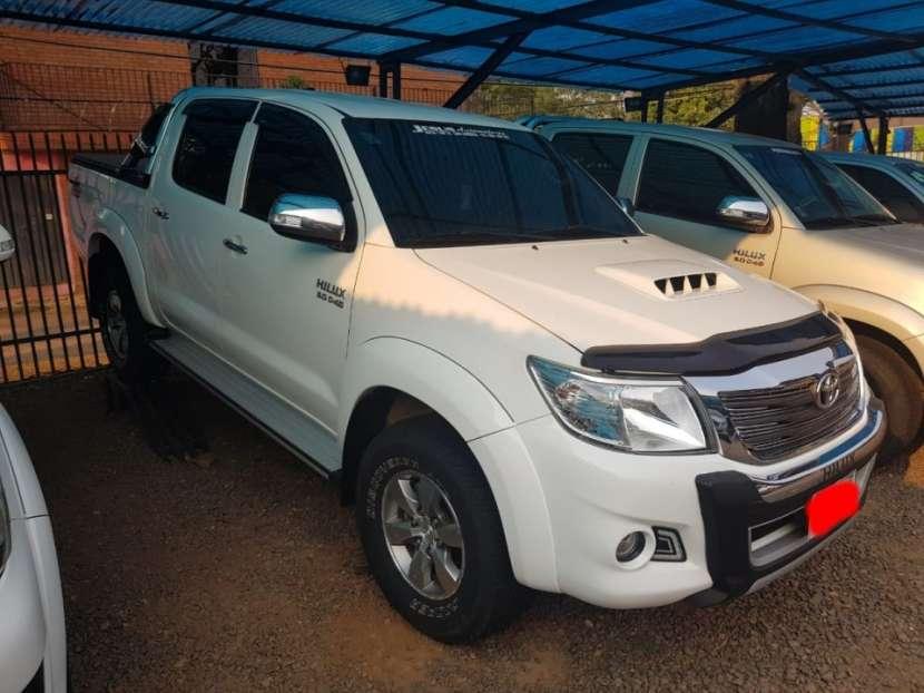 Toyota hilux 2.014. 4x4. mecanico. diesel. - 0