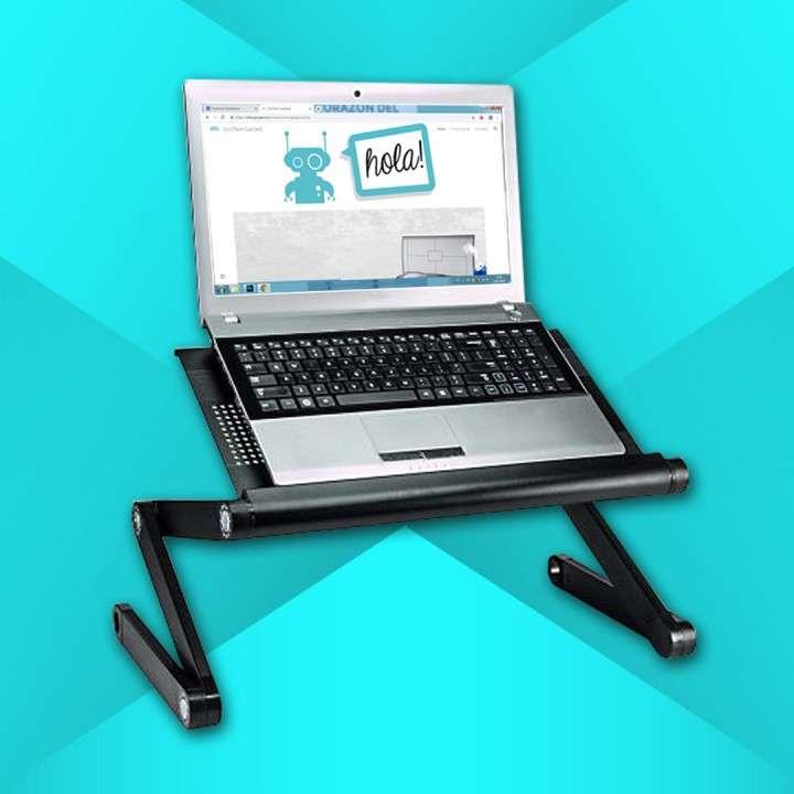 Mesa cooler articulable para notebook - 2
