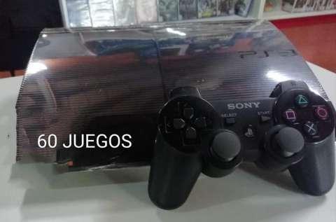 PlayStation 3 de 250 gb con 30 juegos cargados - 0