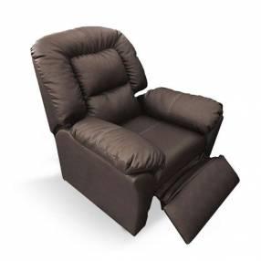 Sofá reclinable ecocuero