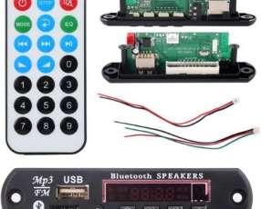 Placa Bluetooth MP3 Decoder Reproductor USB TF y Radio FM