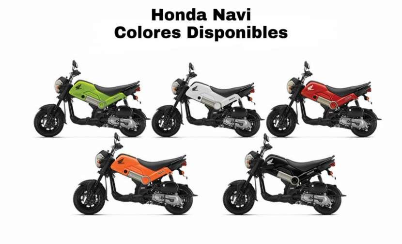 Moto Honda Navi 110 cc - 0