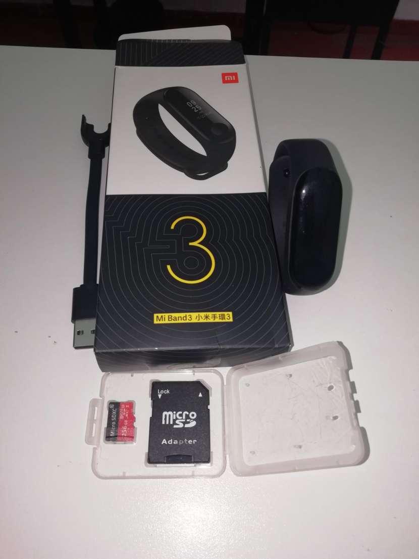 Xiaomi mi band 3 + tarjeta microSD de 256 gb de memoria - 0