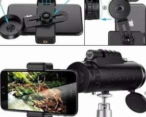 Monocular telescopio impermeable zoom óptico HD