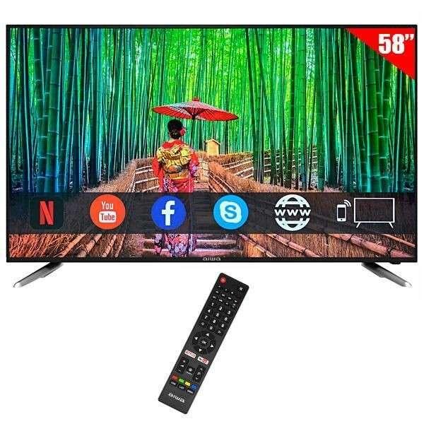 TV AIWA 58 pulgadas UHD 4K Smart - 1