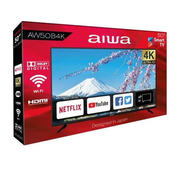 TV AIWA 50 pulgadas UHD 4K Smart - 1
