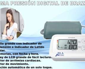 Toma presión de brazo digital