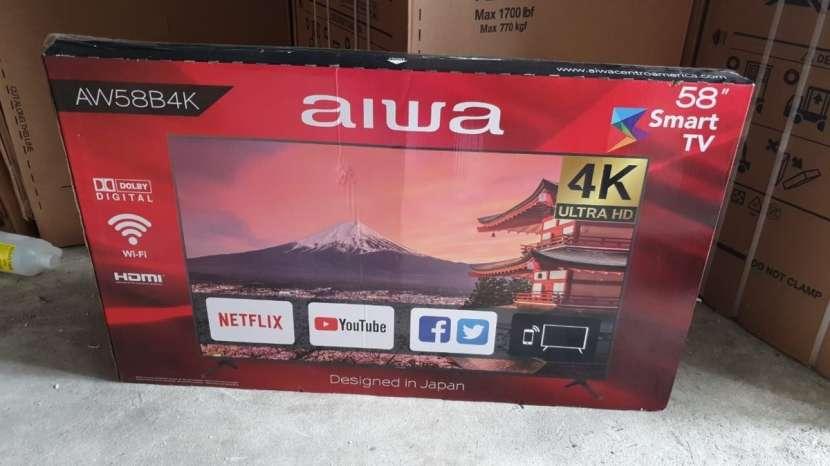 TV AIWA 58 pulgadas UHD 4K Smart - 2