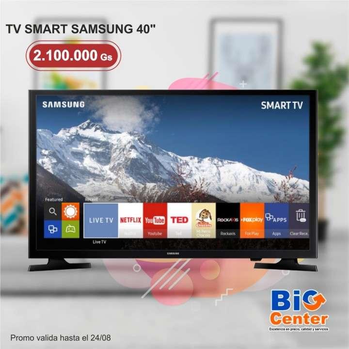 Smart TV Samsung 40 pulgadas FHD Serie 5 - 0