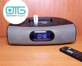 Radio FM reloj despertador