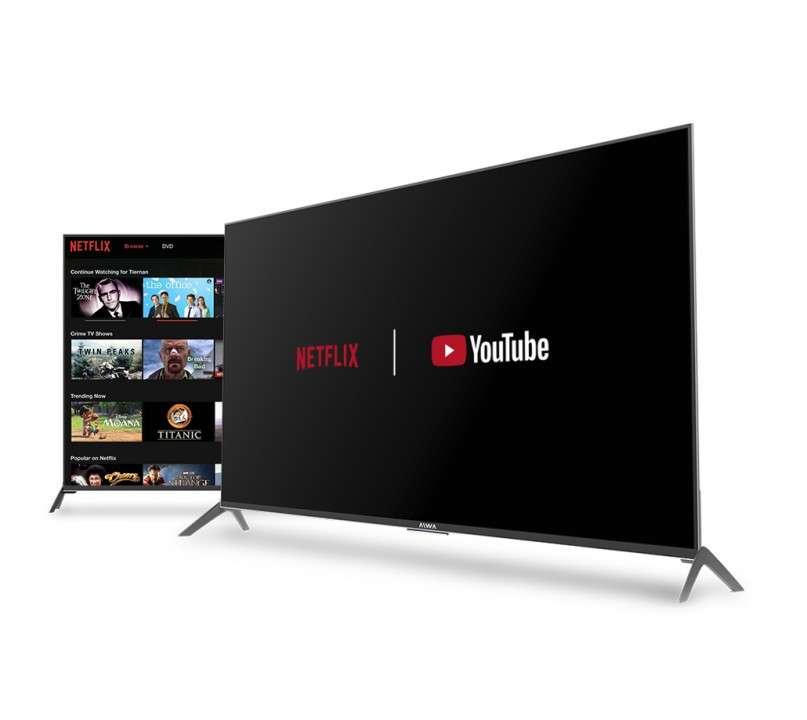 TV AIWA 50 pulgadas UHD 4K Smart - 3