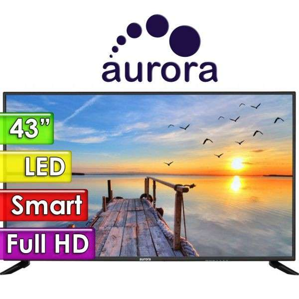 Smart TV LED Full HD de 43 pulgadas Aurora 43F6 - 0
