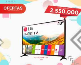 Smart TV LG de 43 pulgadas HD