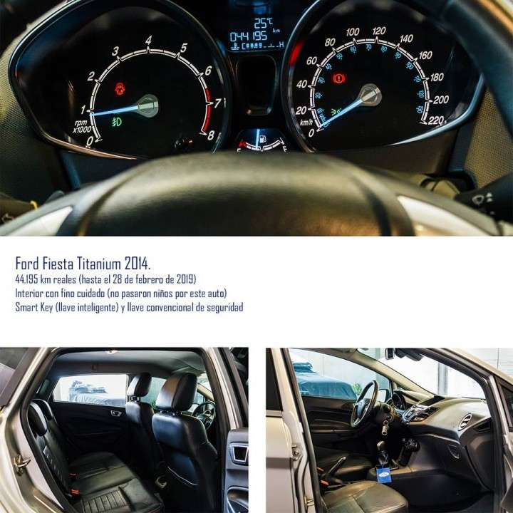 Ford Fiesta Titanium 2014 - 5