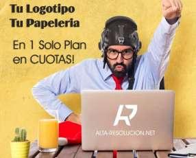 Sitio Web Logotipo y Papelería