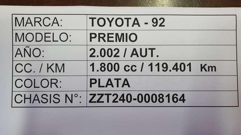 Toyota Premio 2002 - 6
