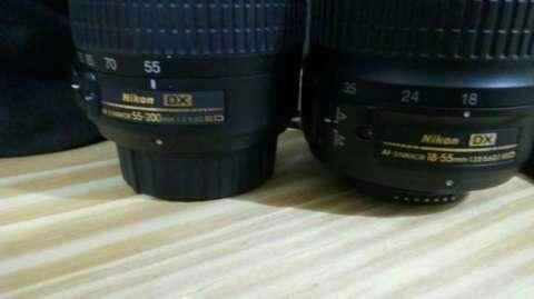 Cámara Profesional Nikon D3200 de 14 megapíxeles - 4