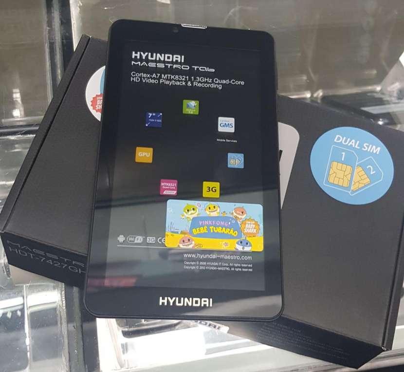 Tablet Hyundai 7 pulgadas con chip - 0