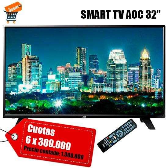 Smart TV AOC de 32 pulgadas - 0