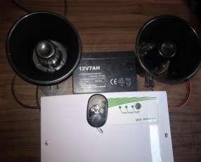 Cerco eléctrico y alarma