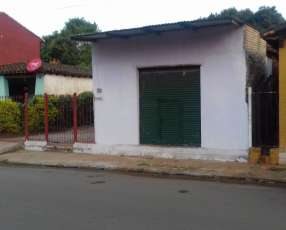 Terreno con Casa y Salón Comercial - San Lorenzo
