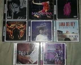 Albumes de diferentes artistas