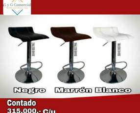 Butacas regulables estructura metal