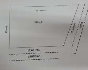 Terreno 320 m2 a 2 cuadras del sheraton en esquina