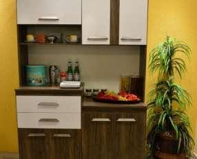 Kit de cocina dora 7 puertas 2 gavetas