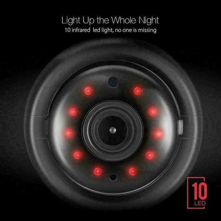 Mini cámara IP wifi HD visión nocturna y detección de movimiento - 5