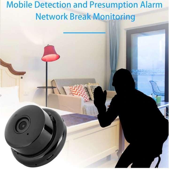 Mini cámara IP wifi HD visión nocturna y detección de movimiento - 1