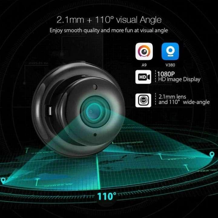 Mini cámara IP wifi HD visión nocturna y detección de movimiento - 6