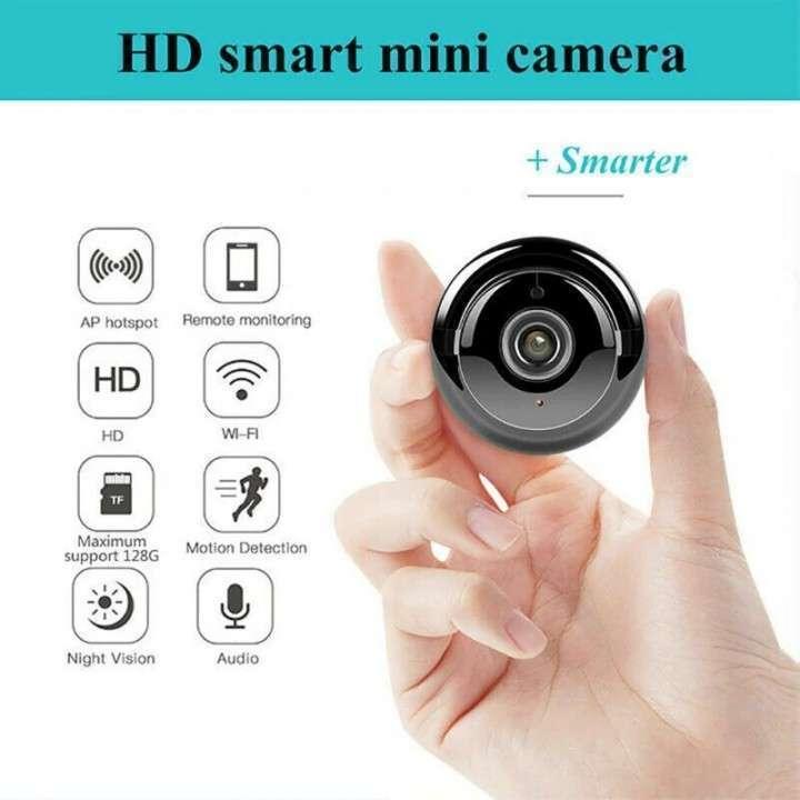Mini cámara IP wifi HD visión nocturna y detección de movimiento - 2