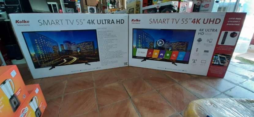 TV LED Smart Kolke full UHD 4k Android de 55 pulgadas - 0