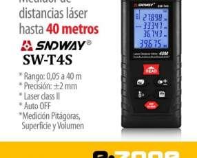 Medidor Láser SNDWAY T4S 40m