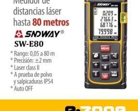 Medidor Láser SNDWAY 80m