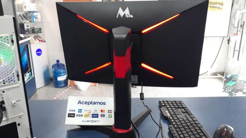 Monitor 24 pulgadas curvo LED Mtek gaming - 1