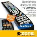 Control remoto para tv Samsung con luz - 0