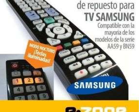 Control remoto para tv Samsung con luz