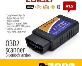 Scanner OBD2 ELM 327 bluetooth diagnóstico