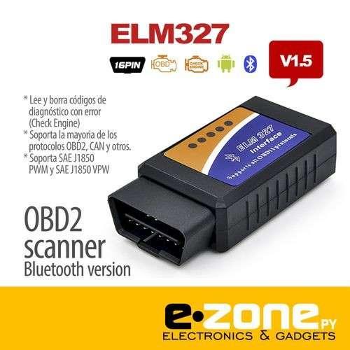 Scanner OBD2 ELM 327 bluetooth diagnostico - 0