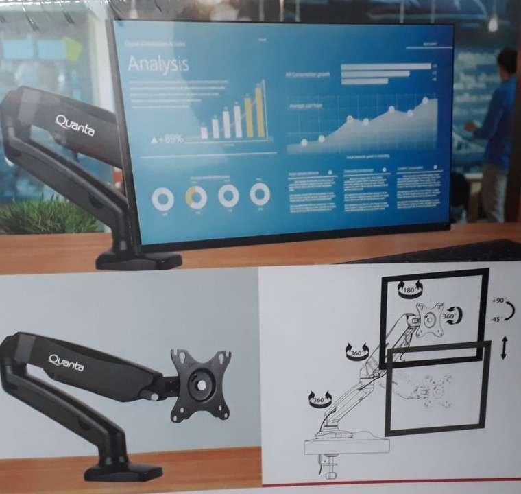 Soporte retráctil de mesa para monitor Quanta QTSAM100 - 1