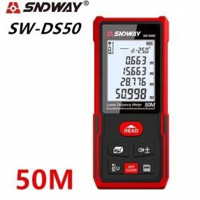 Metro Láser SNDWAY SW-DS50 50 metros