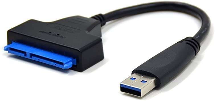 Cable adaptador Sata a usb 3.0 a disco duro 2.5 de notebook