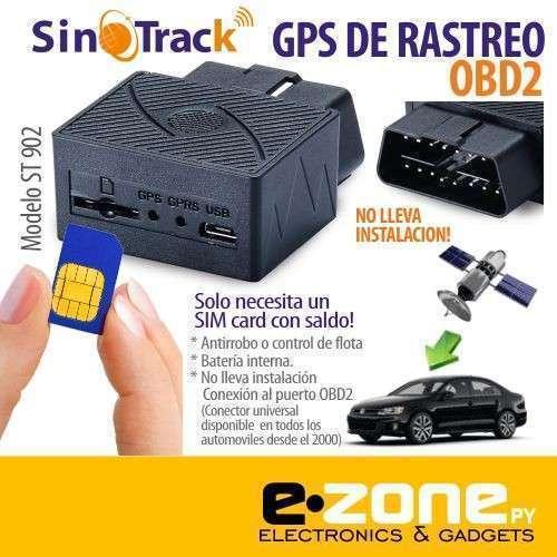 GPS rastreo OBD2 ST902 sin instalación - 0