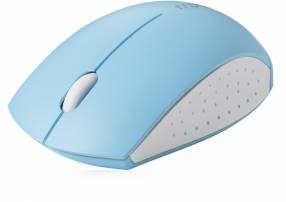 Mouse USB wireless Rapoo mini 3360 blanco/celeste