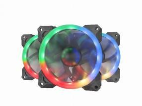 Cooler led para gabinete Mtek mf-120 rgb