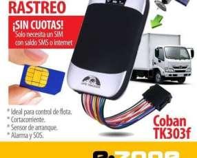 GPS de rastreo a SIM card