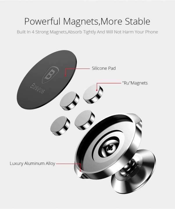Soporte magnético para teléfonos - 2
